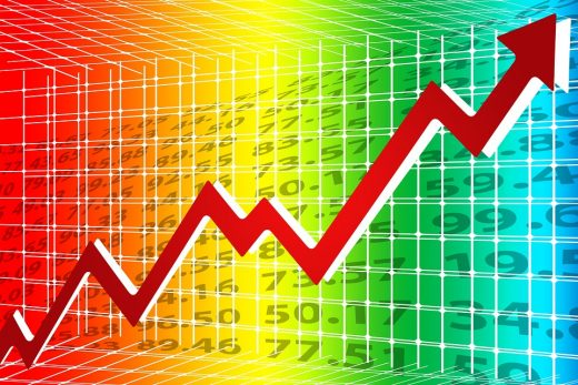 Wzrost cen kryptowalut
